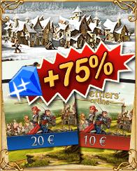 Prepaid-Cards - 75% bonus (x-mas2016)